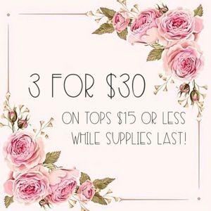Inspired Closet Tops - 3 for $30 • Sleeveless Jade Checkered Top